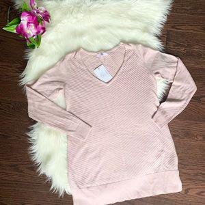 NWT Camber & Grace (RW&Co) Blush Sweater